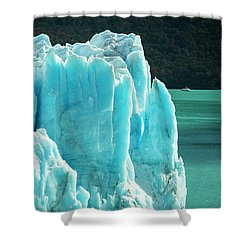 Perito Moreno Glacier Shower Curtain