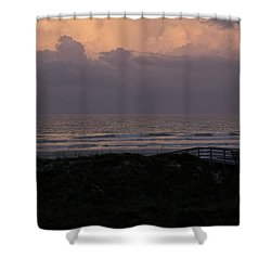 Periwinkle Dusk Shower Curtain