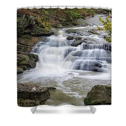 Shower Curtain featuring the photograph Perpetual Flow by Dale Kincaid