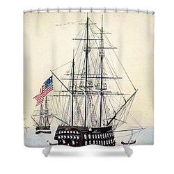 Perrys Expedition To Japan Shower Curtain by Granger