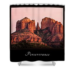 Shower Curtain featuring the photograph Perserverance 3 by Mary Jo Allen