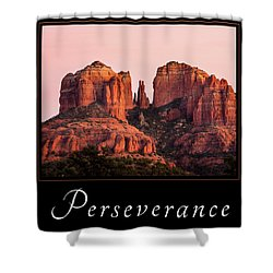 Shower Curtain featuring the photograph Perseverance by Mary Jo Allen