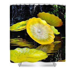 Persian Lily Pads Shower Curtain
