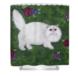 Persian Meadow Shower Curtain