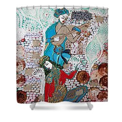 Persian Painting # 1 Shower Curtain
