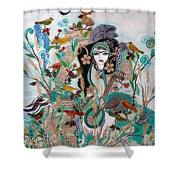 Persian Painting # 2 Shower Curtain