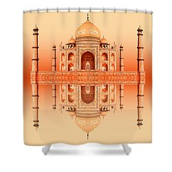 Persian Poem Of Love Shower Curtain