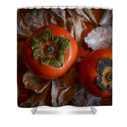 Persimmons 5 Shower Curtain