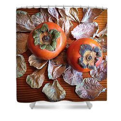 Persimmons 6 Shower Curtain