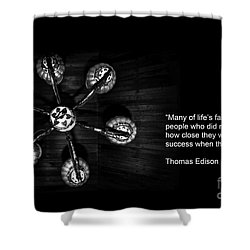 Persistence Shower Curtain by Charuhas Images