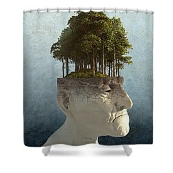 Personal Growth Shower Curtain