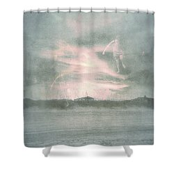 Ghosts And Shadows Vii - Personal Rapture  Shower Curtain