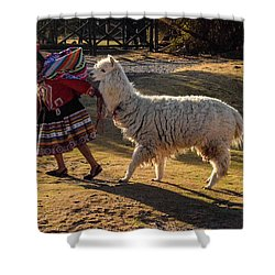 Peru Shower Curtain