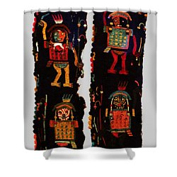Peruvian Fab Art Shower Curtain