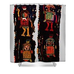 Peruvian Fab Art Shower Curtain