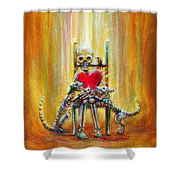 Pet Love Shower Curtain