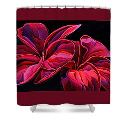 Petal Pageant  Shower Curtain