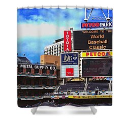 Petco Park Shower Curtain
