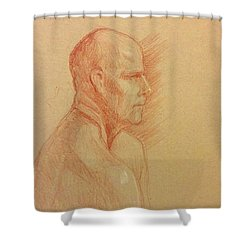 Peter #2 Shower Curtain