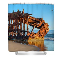 Peter Iredale II Shower Curtain