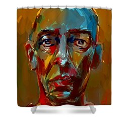 Peter Shower Curtain by Jim Vance