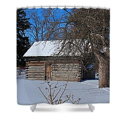 Peter Navarre Cabin II Shower Curtain