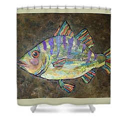 Peter The Perch Shower Curtain