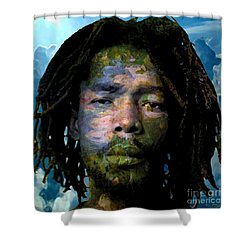 Peter Tosh Shower Curtain