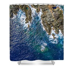 Peterborg Point Shower Curtain
