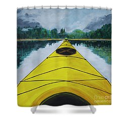 Petersburg Creek Shower Curtain