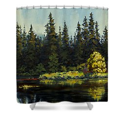 Peterson Lake Shower Curtain