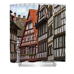 Petite France Houses, Strasbourg Shower Curtain