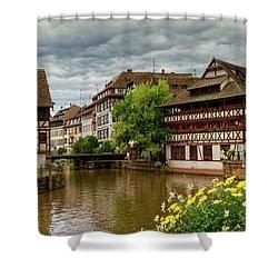 Petite France, Strasbourg Shower Curtain