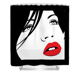 Petite Shower Curtain