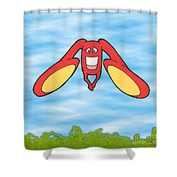 Petontas Shower Curtain