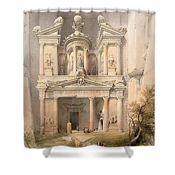 Petra Shower Curtain by David Roberts