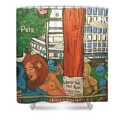 Pets Shower Curtain