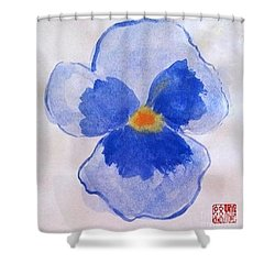 Petunia Shower Curtain