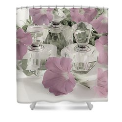 Petunias And Perfume - Soft Shower Curtain
