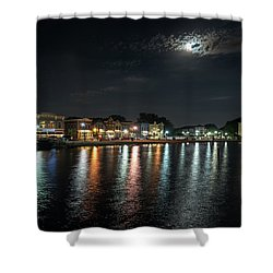 Pewaukee At Night Shower Curtain
