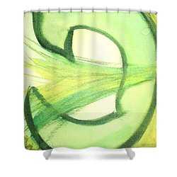 Pey Formation Shower Curtain