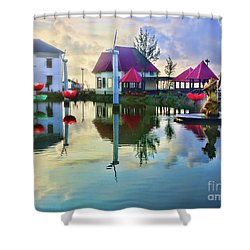 Phan Thiet Coast I Shower Curtain