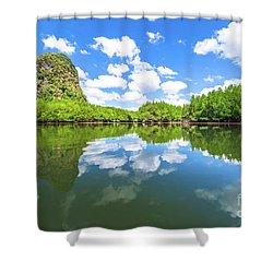 Phang Nga Bay Shower Curtain