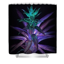 Phantom Bromeliad Shower Curtain