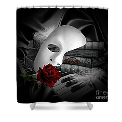 Phantom Of The Opera Shower Curtain