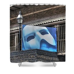 Phantom Of The Opera - Broadway Shower Curtain by Timothy Lowry