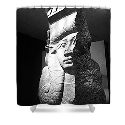 Shower Curtain featuring the photograph Pharaoh by Michael Krek