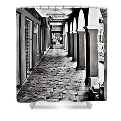 Pharmacy, Zante Town. #zakynthos #zante Shower Curtain by John Edwards