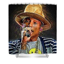 Pharrell Williams Shower Curtain