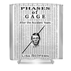 Phases Of Gage Book Poster  Shower Curtain